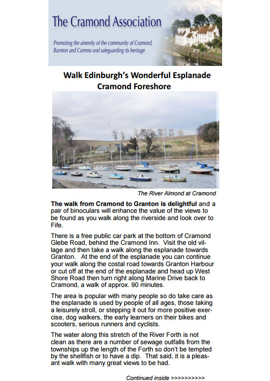 Walk Edinburgh's Wonderful Esplanade